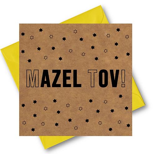 MAZEL TOV CARD (064)
