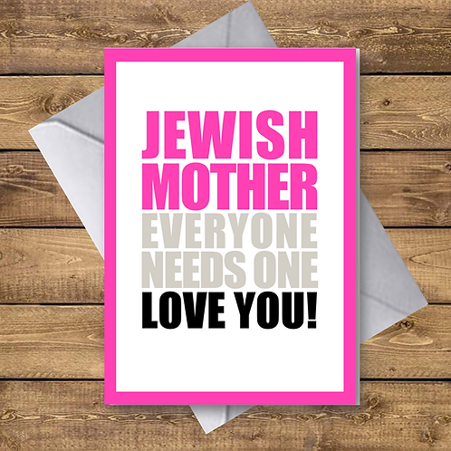 JEWISH MOTHER (OV02)