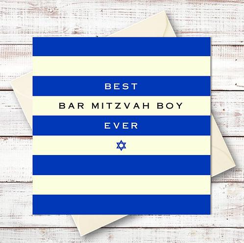 BEST BAR MITZVAH BOY EVER