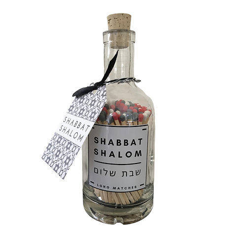 SHABBAT MATCH BOTTLE