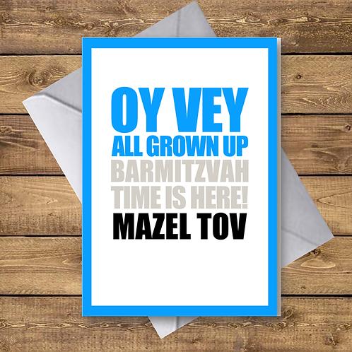 BAR MITZVAH (OV06)