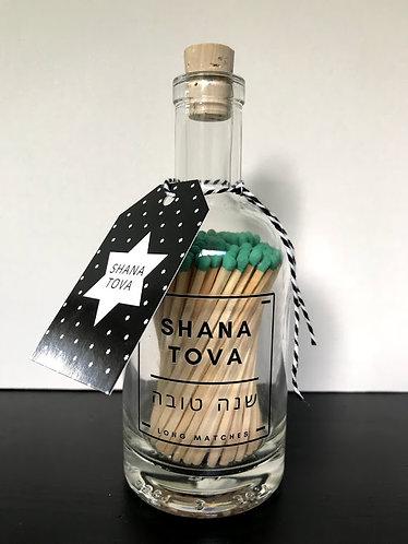SHANA TOVA MATCH BOTTLE (Green)