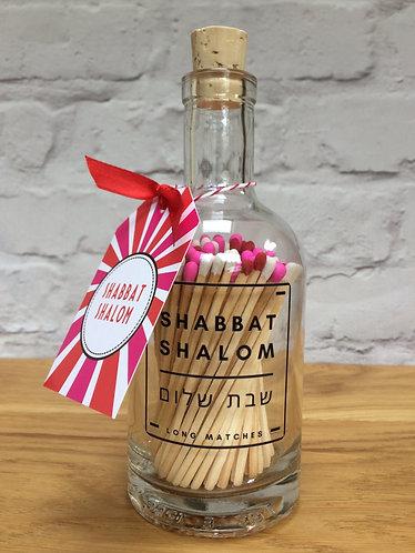SHABBAT MATCH BOTTLE (Pink)