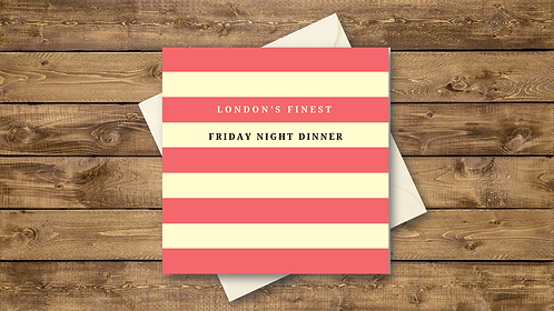 friday night dinner cards
