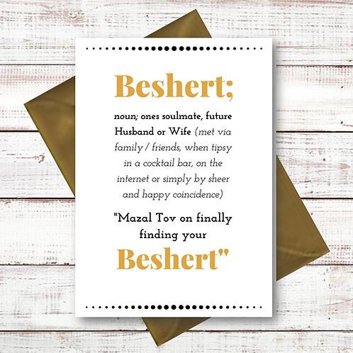 BESHERT WEDDING / SOULMATE (CL08)