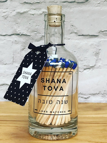 SHANA TOVA MATCH BOTTLE (Blue)