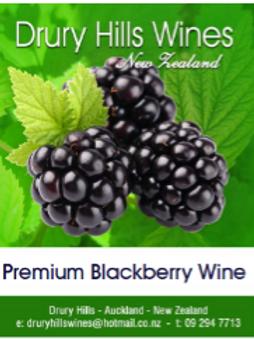 Premium Blackberry Wine