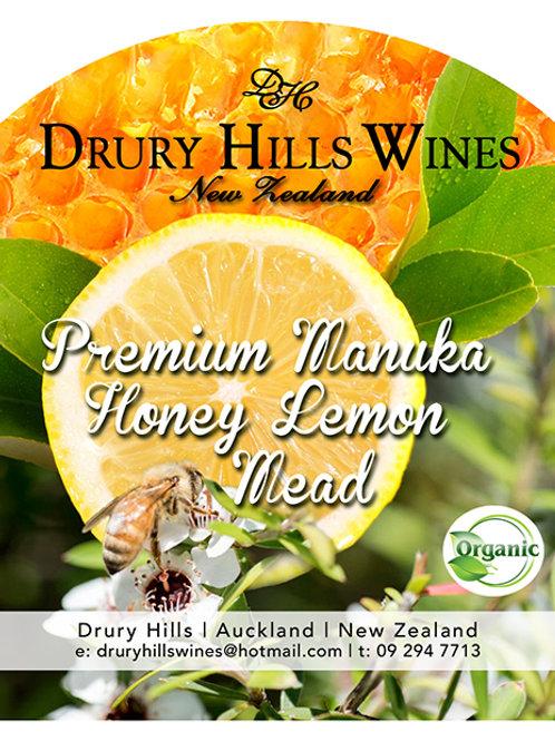 Manuka Honey Lemon Mead
