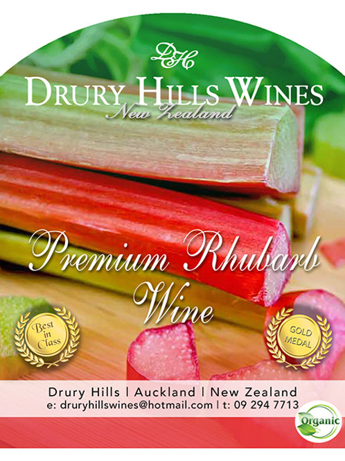 Premium Rhubarb Wine