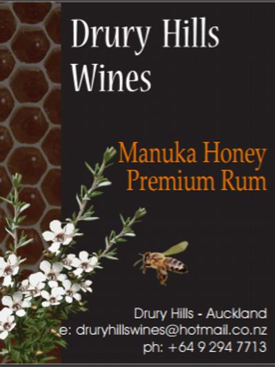 Manuka Honey Premium Rum