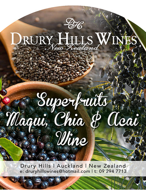 Superfruits Maqui, Chia & Acai Wine
