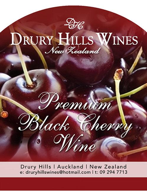 Premium Black Cherry Wine