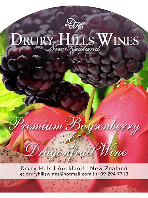 Premium Boysenberry Dragonfruit Wine
