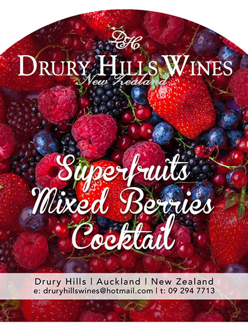 Superfruits Mixed Berries Cocktail