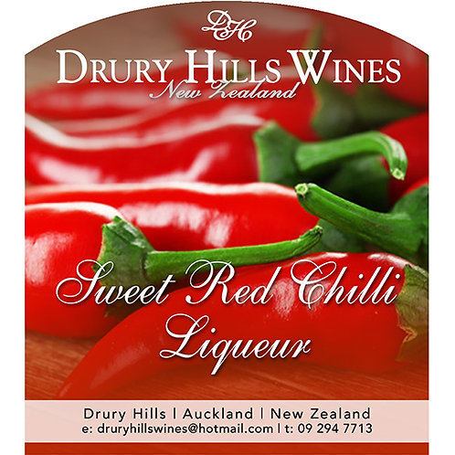 Sweet Red Chilli Liqueur