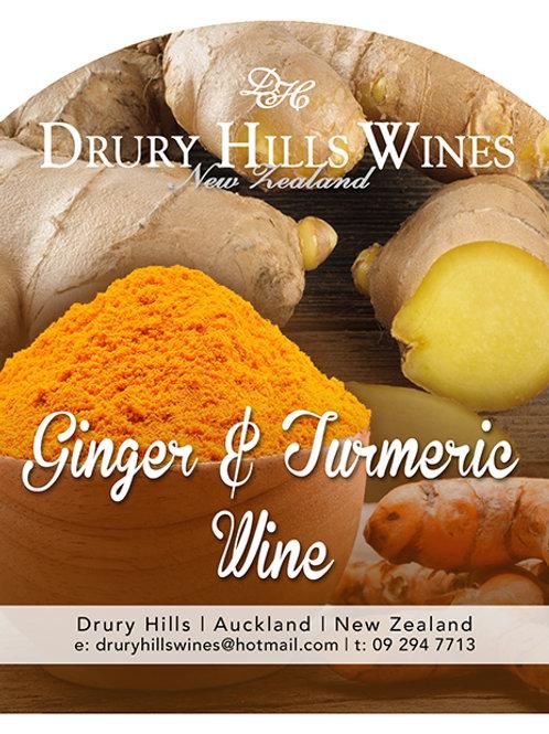 Ginger & Turmeric Wine
