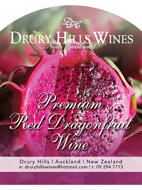 Premium Red Dragonfruit Wine