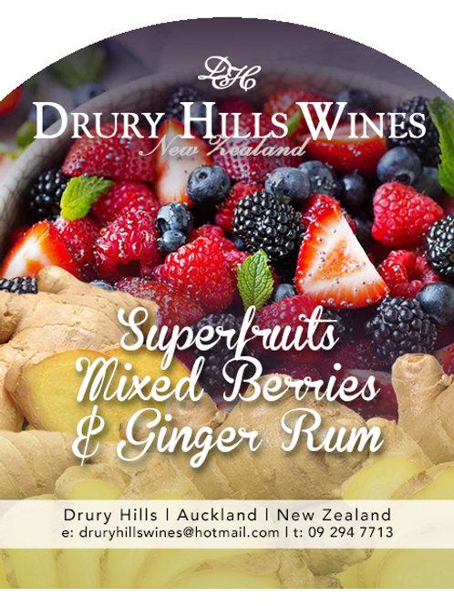 Superfruits Mixed Berries & Ginger Rum