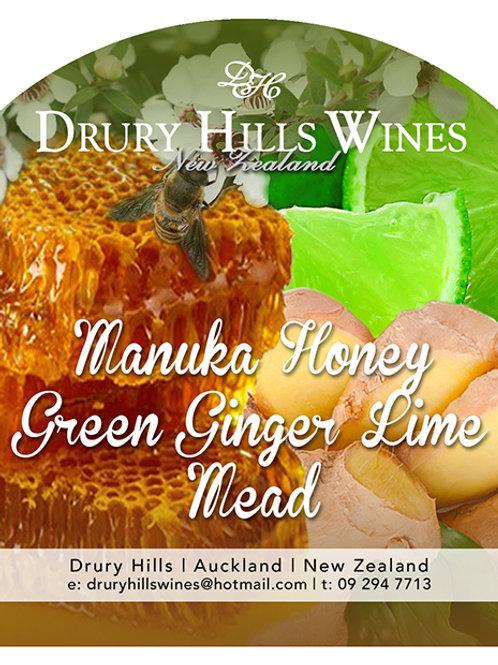 Manuka Green Ginger & Lime Mead