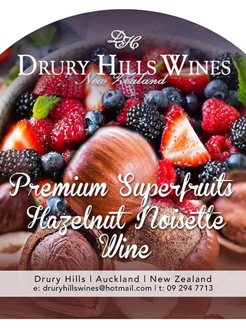 Premium Superfruits Hazelnut Noisette Wine