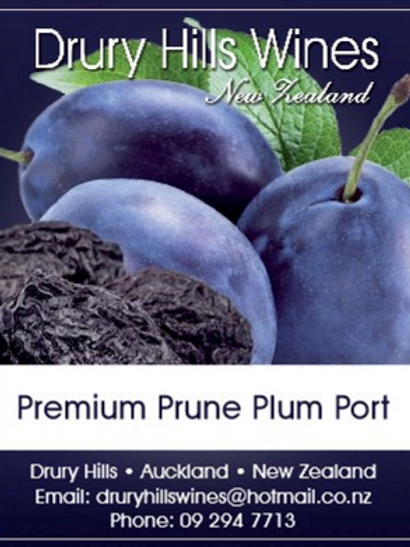 Prune Plum Port