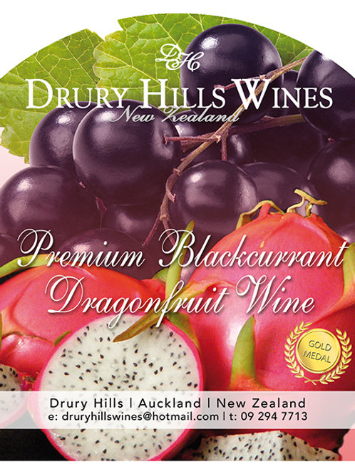 Premium Blackcurrent Dragonfruit Wine