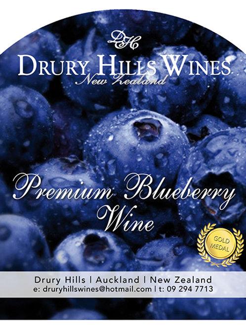 Premium Blueberry Wine
