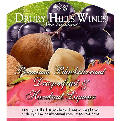 Premium Blackcurrent Dragonfruit & Hazelnut Wine