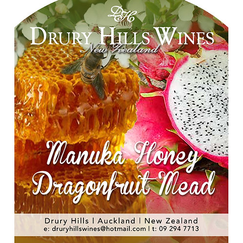 Manuka Honey Dragonfruit Mead