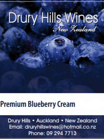 Premium Blueberry Cream