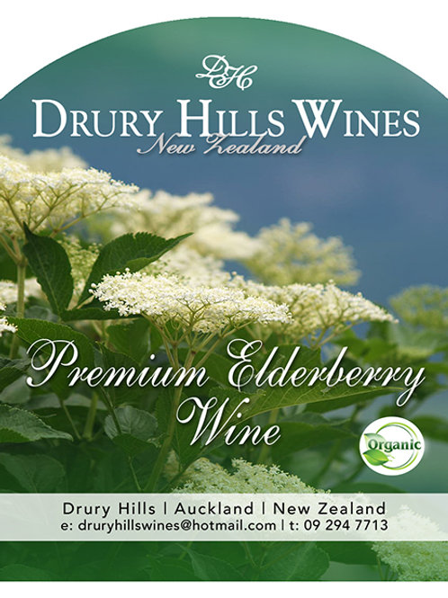 Premium Elderberry Wine