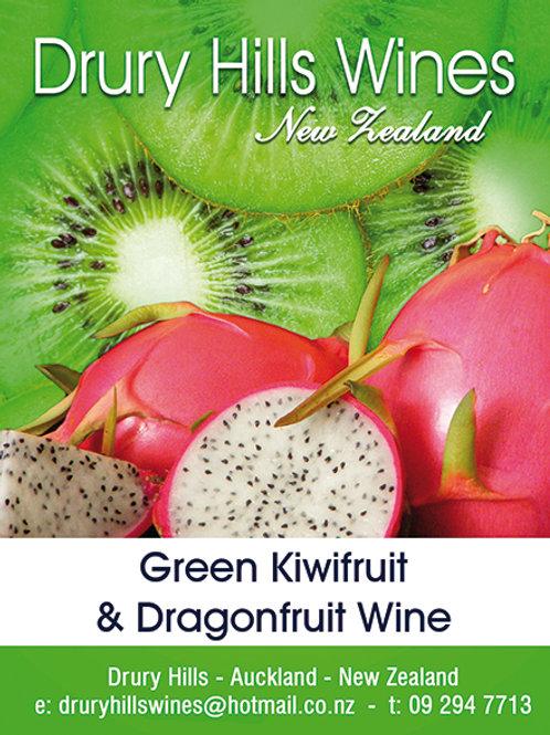 Green Kiwifruit & Dragonfruit Wine