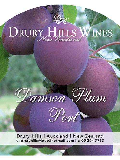 Damson Plum Port