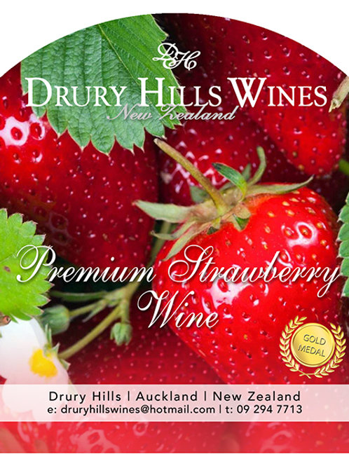 Premium Strawberry Wine
