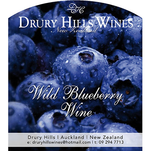 Wild Blueberry Wine