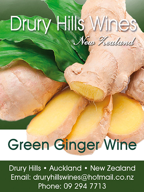 Green Ginger Wine