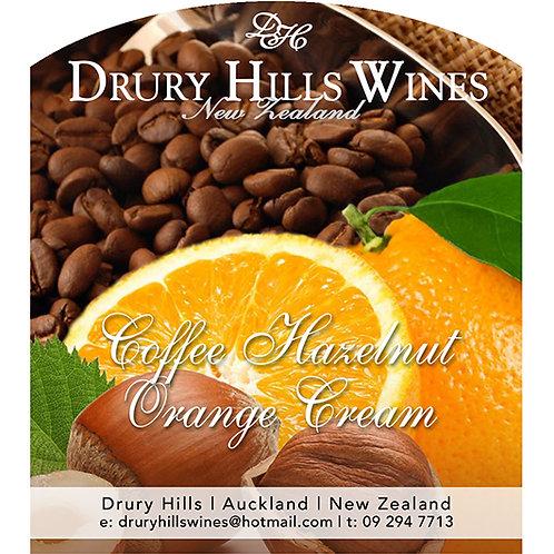 Coffee Hazelnut Orange Cream