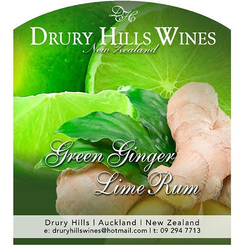 Premium Green Ginger Lime Rum