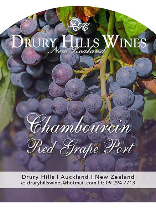 Chambiurcin Red Grape Port
