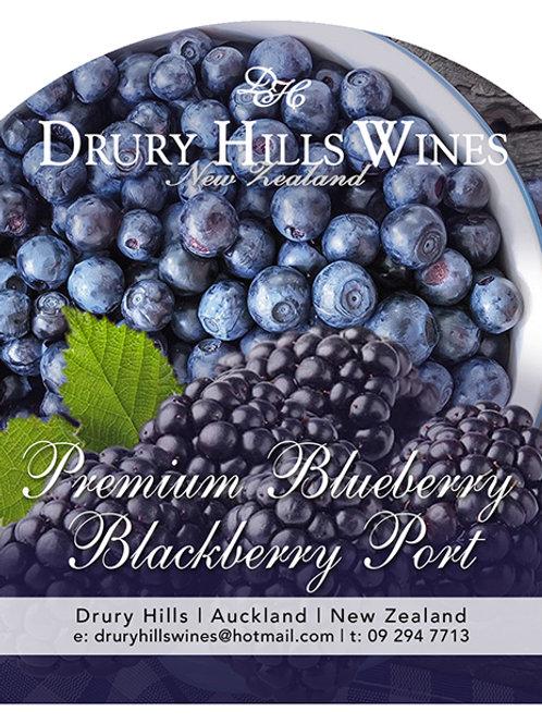 Premium Blueberry Blackberry Port