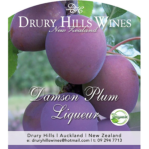 Damson Plum Liqueur