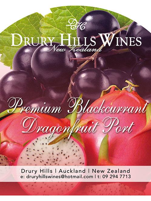 Premium Blackcurrent & Dragonfruit Port