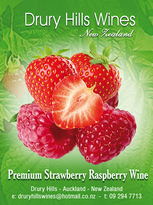Premium Strawberry Raspberry Wine