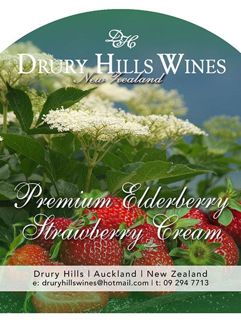 Premium Elderberry Strawberry Cream