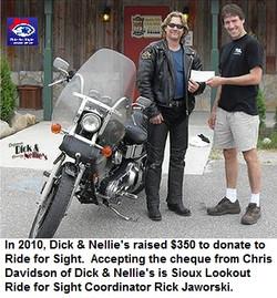 Ride for Sight Northwestern Ontario 2010