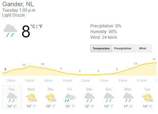 19 NL Gander Weather forecast.PNG