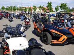 18 ON C Parade Kick off bikes await slin