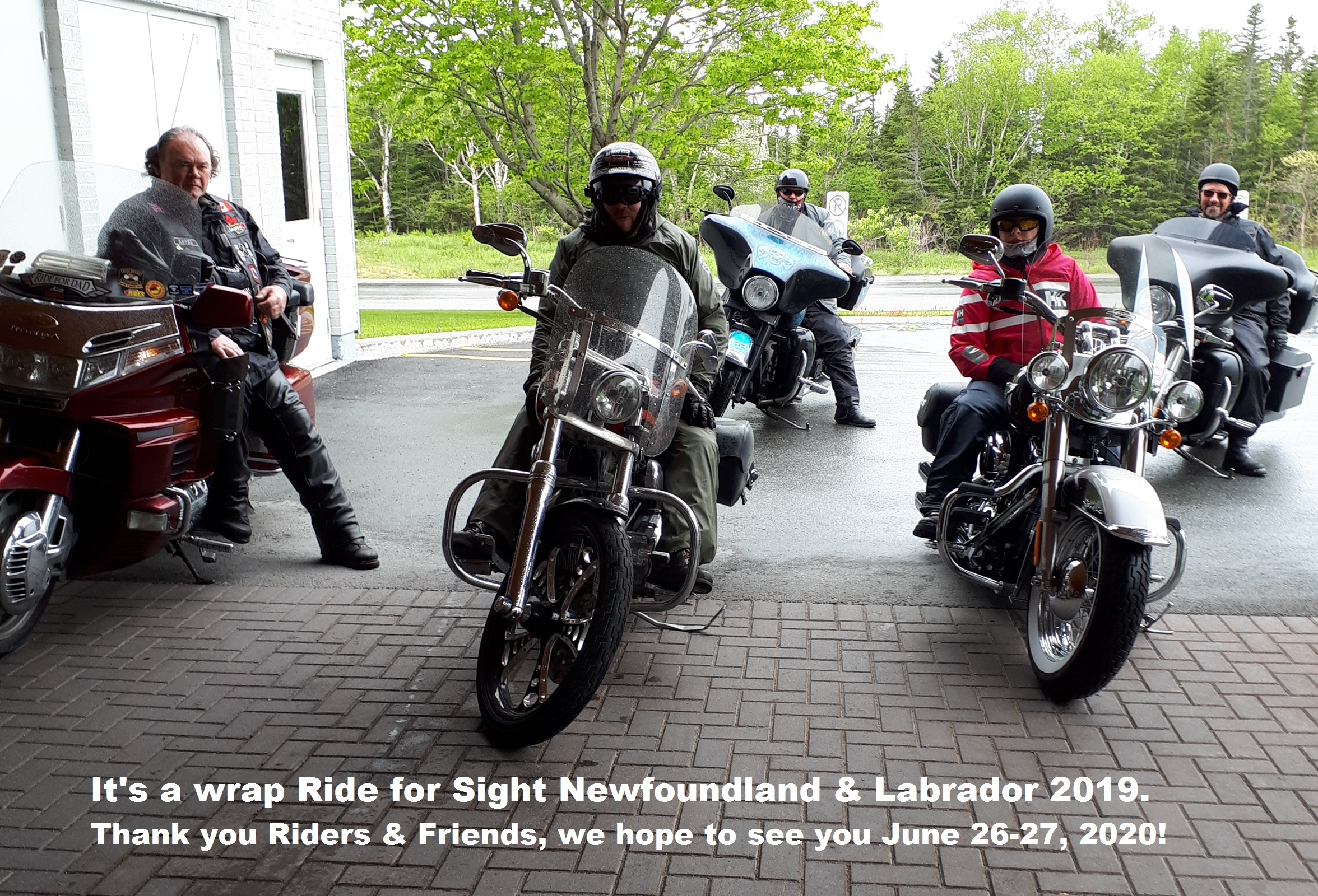 Ride for Sight NL 2019
