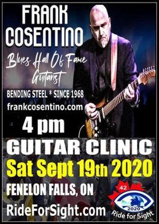 20 ON C Band Frank Consentino Guitar Cli
