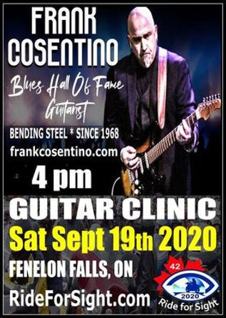 20 ON C Band Frank Consentino Guitar Cli